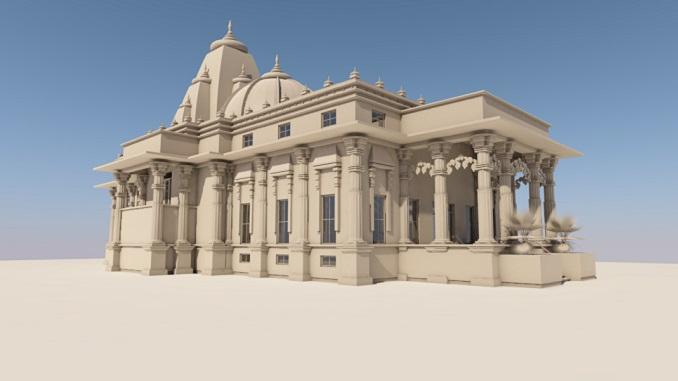 Šventyklos maketas 3