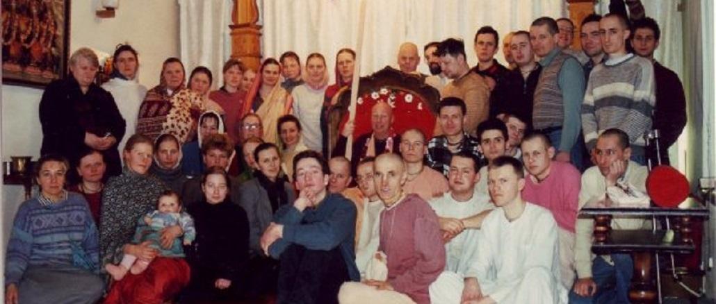 Vilnius ISKCON devotees