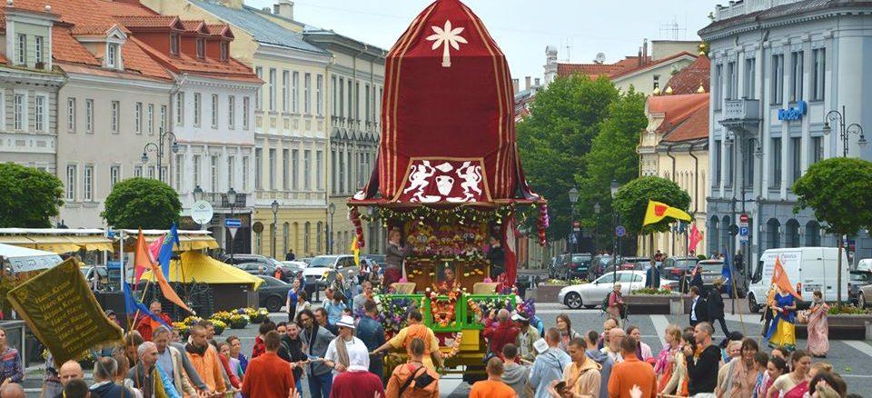 Rathajatra Vilniuje